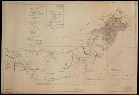 Peta Bolmong tahun 1935
